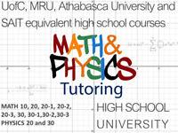 HIGH SCHOOL MATH / STATISTICS / PHYSICS TUTOR SW