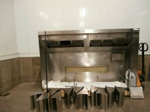 Vent Hood with Fire Suppression