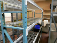 Pallet Racking/Shelving/Warehouse Equipment USED