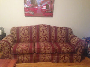 Comfortable and like-new Couch & Chair