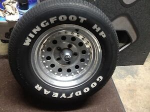 Wanted: looking for 15 inch Goodyear WINGFOOT HP tire 245 60R15 Cambridge Kitchener Area image 1