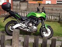 Kawasaki kle 650 versys 08 reg, poss deliver