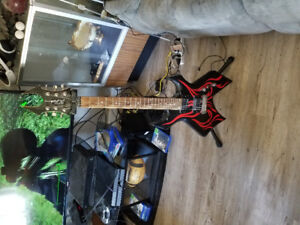 BC Rich guitar for sale! Comes with stand