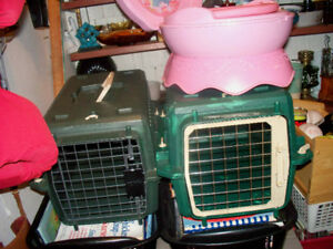 SMALL CAT CARRIERS ,BUGGIE CAGE,HAMSTER,WIRE DOOR