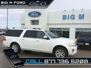 2016 Ford Expedition Max LIMITED   -  MOONROOF -  BLIND SPOT - $