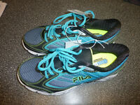 NEW with tags women's FILA running shoes, size 8