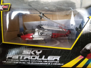 Brand new remote helicopter