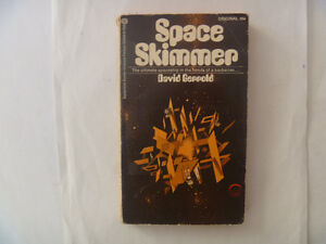SPACE SKIMMER by David Gerrold - 1972 Paperback