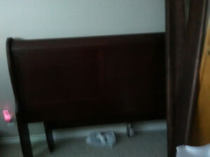 Sleigh bed frame for sale 150.00