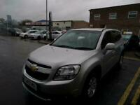 2013 Chevrolet Orlando 1.8 LT 5dr Auto MPV Petrol Automatic