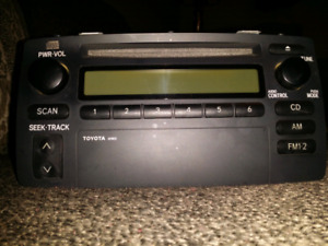 Radio TOYOTA COROLLA AM FM CD 2003 2004 2005 2006 2007 2008