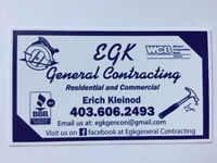 E.G.K. General Contracting / Residential & Commercial