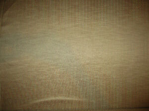 beige/cream pinstripe faux silk fabric