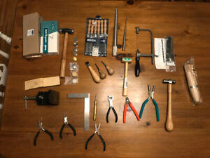Metal Smithing/Jewellers Tools For Sale
