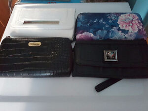 Woman's variety of wallets