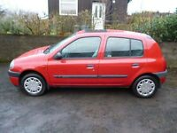 Renault Clio 1.4 RT spares or repair