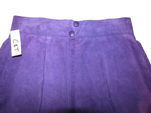 DANIER Leather Purple Suede Skirt Gatineau Ottawa / Gatineau Area image 5