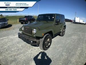 2016 Jeep Wrangler Sahara  -  A/C - Low Mileage