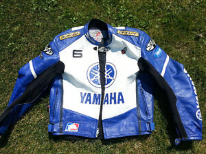 Yamaha Joe Rocket leather jacket 48