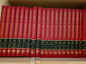 Britannica Encyclopedia full set & Webster's Dictionary