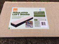 Loft insulation boards