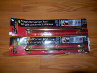 2-Magnetic Curtain Rods