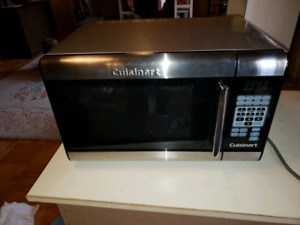 Stainless steel Cuisinart Microwave