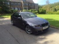 BMW 320D M SPORT LCI AUTOMATIC ,LOW MILES