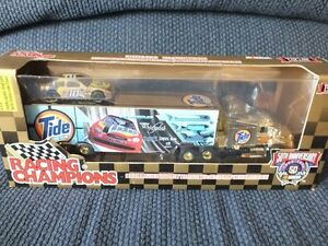 NASCAR #10 GOLD HAULER & 1/64 DIE CAST CAR 50th TIDE