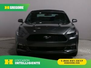 2017 Ford Mustang CONVERTIBLE V6 AUTO A/C GR ÉLECT CAMÉRA RECUL