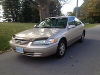 CERTIFIED 1999 Toyota Camry LE 240k, Leather, Moonroof, A/C, CD