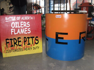 CUSTOM FIRE PITS ON SALE NOW AT READY TO RENT EQUIPMENT!!