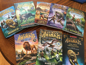 Spirit Animals, books 1-7