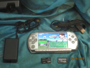PSP 3000 with 2500+ SMS GBC GBA SNES games