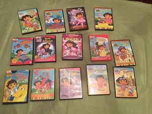 Lot of Dora DVDs
