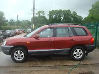 Hyundai Santa Fe 2.4 NEW MOT PX TO CLEAR
