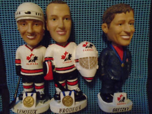 Team Canada 2002 Olimpics NHL Bobbleheads for Sale (2) Bobblehea