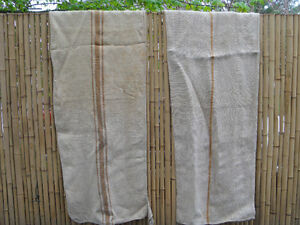 East European Linen Grain Sacks (Vintage)
