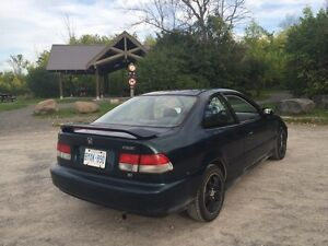 1998 Honda Civic Si Coupe - E-Tested