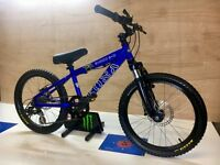 Kona shred 20 youth jump trail downhill bike hydraulic brakes
