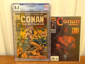 Conan the Barbarian Complete Set of Comic Books #1-#275