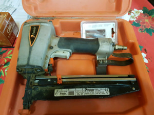 Paslode 16 gauge finish nailer