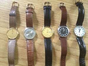 Vintage Mens watches collectable