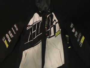 Men's Icon Motorcycle Jacket Sz Large