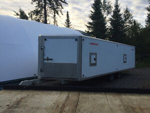 4 place enclosed trailer