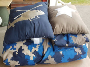 Boys Queen Comforter Set