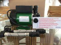 Salamander CT55 single impeller shower pump