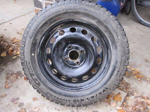 Great Winter Tires 196/65/15 Only 1 Winter