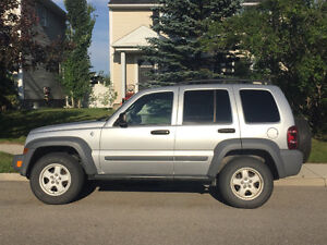 2005 Jeep Liberty with LOW KMs!