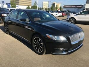 2017 Lincoln Continental Reserve  3.0L Twin Moonroof 30-Way Seat